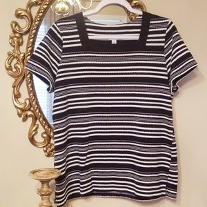 Kim Rogers striped tunic